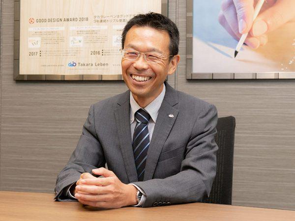 株式会社タカラレーベン 経営企画統括グループ 人事部 人事課 課長 渡辺 和敏 様